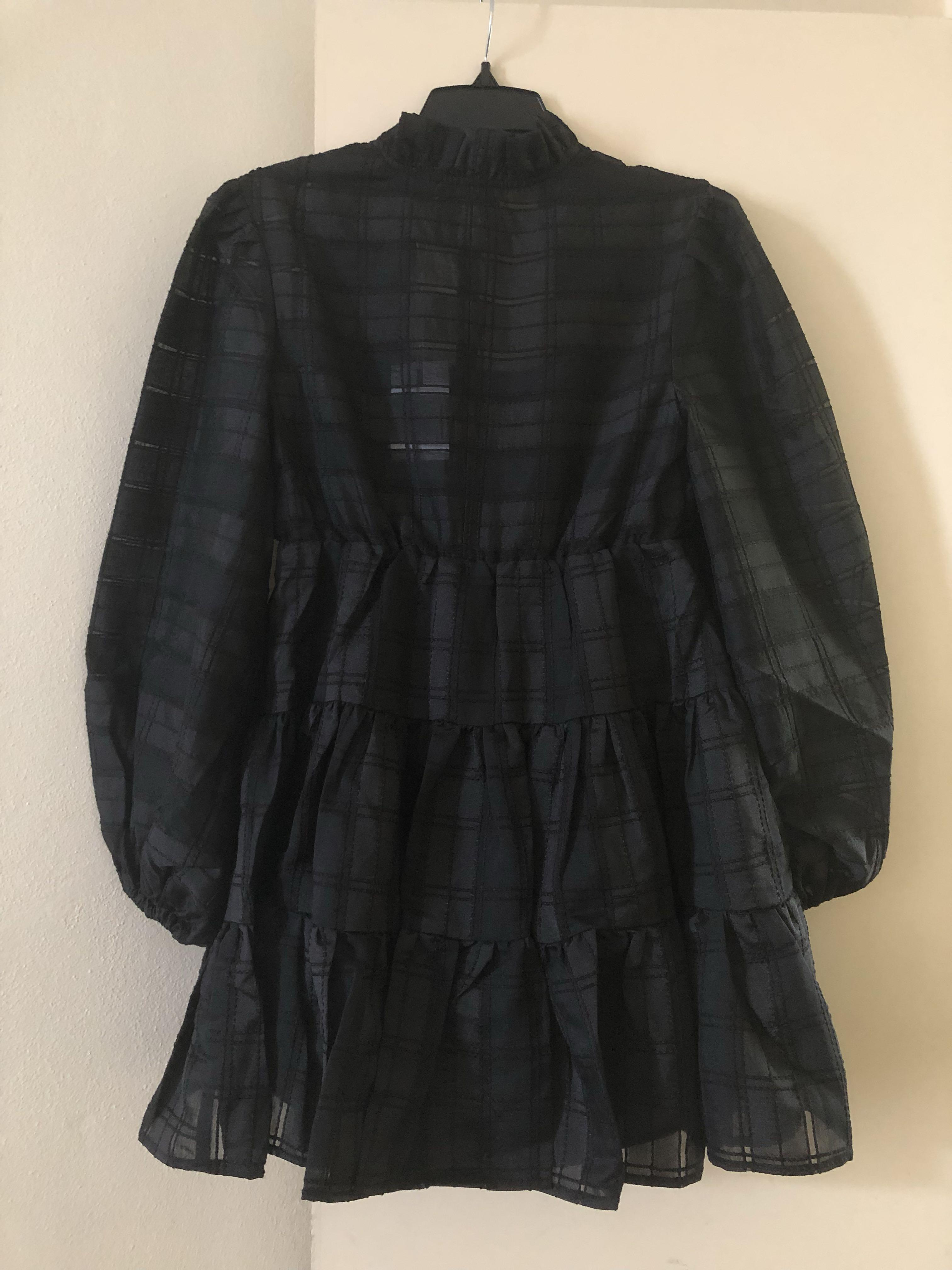 C/Meo Collective Mini Black Dress Size XS / AU UK 6/ US 0-2