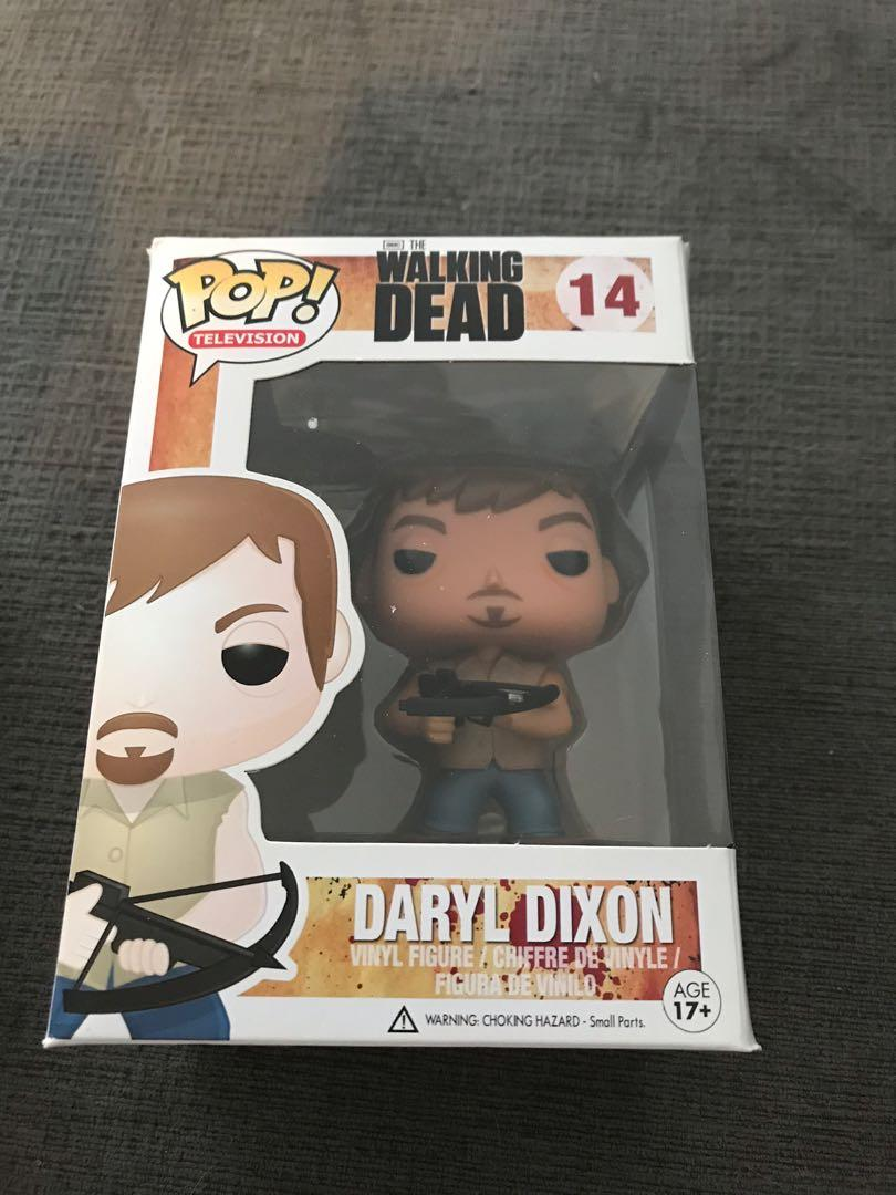 Daryl Dixon Funko pop New in box- The Walking Dead