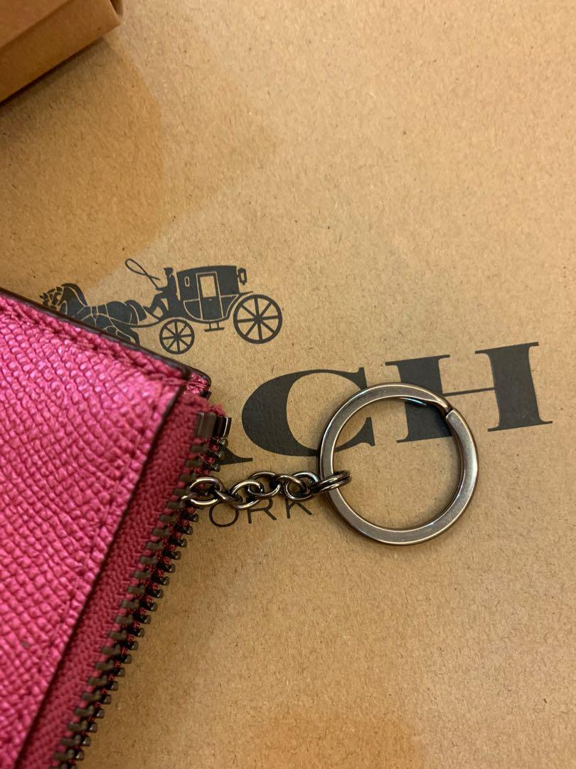 (Dec19)Ready Stock Authentic Chirstmas gift card holder with zip and key chain original