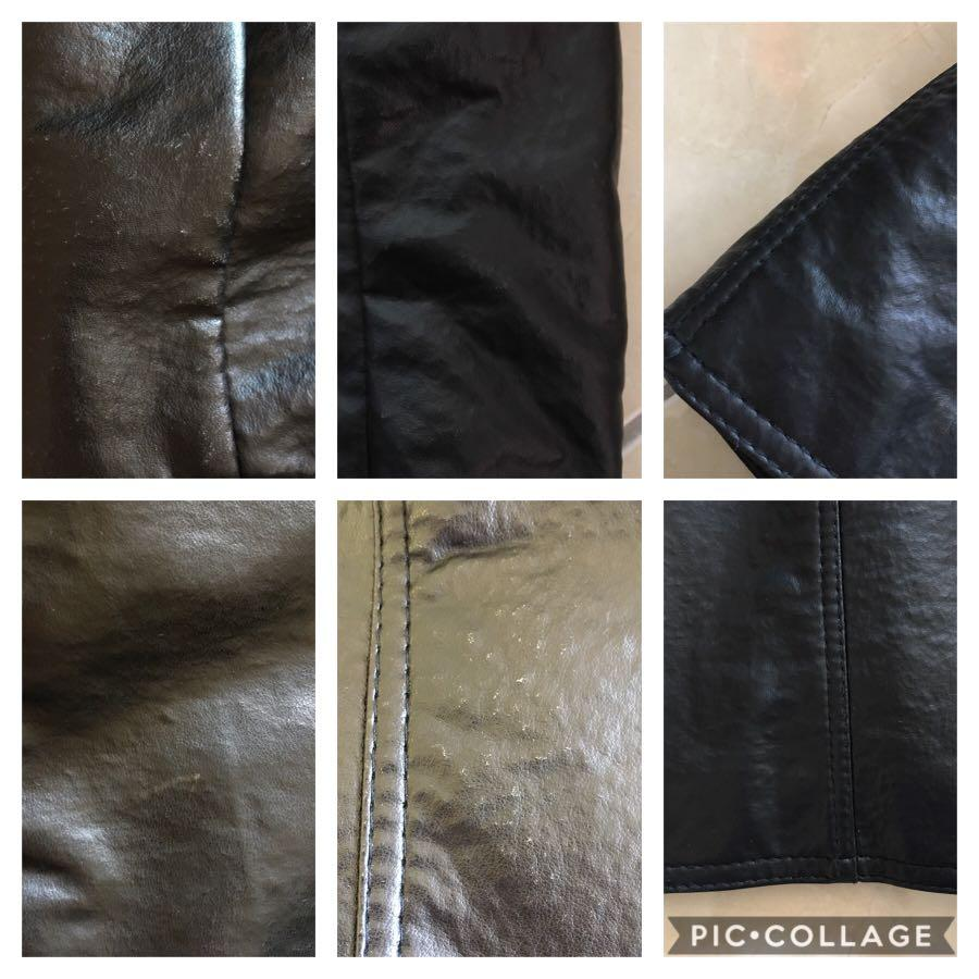 GV Gruppo Italiano Tessile Men's Leather Jacket / Coat