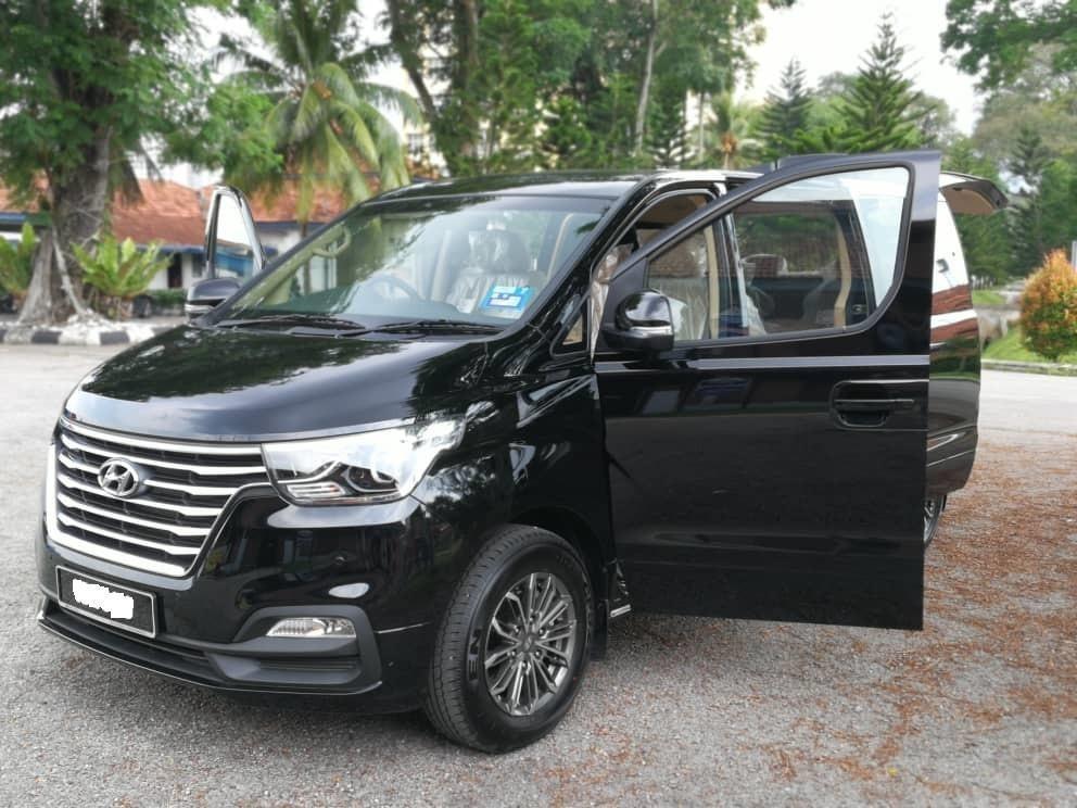 Hyundai Grand Starex 2.5(A) 2019 Rental / kereta Sewa