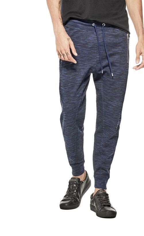 J0020 NWT Guess Men's Space Dye Jogging Pants 36x30