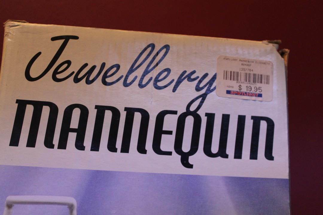 Jewellery Holder - Mannequin Style - Original Packaging