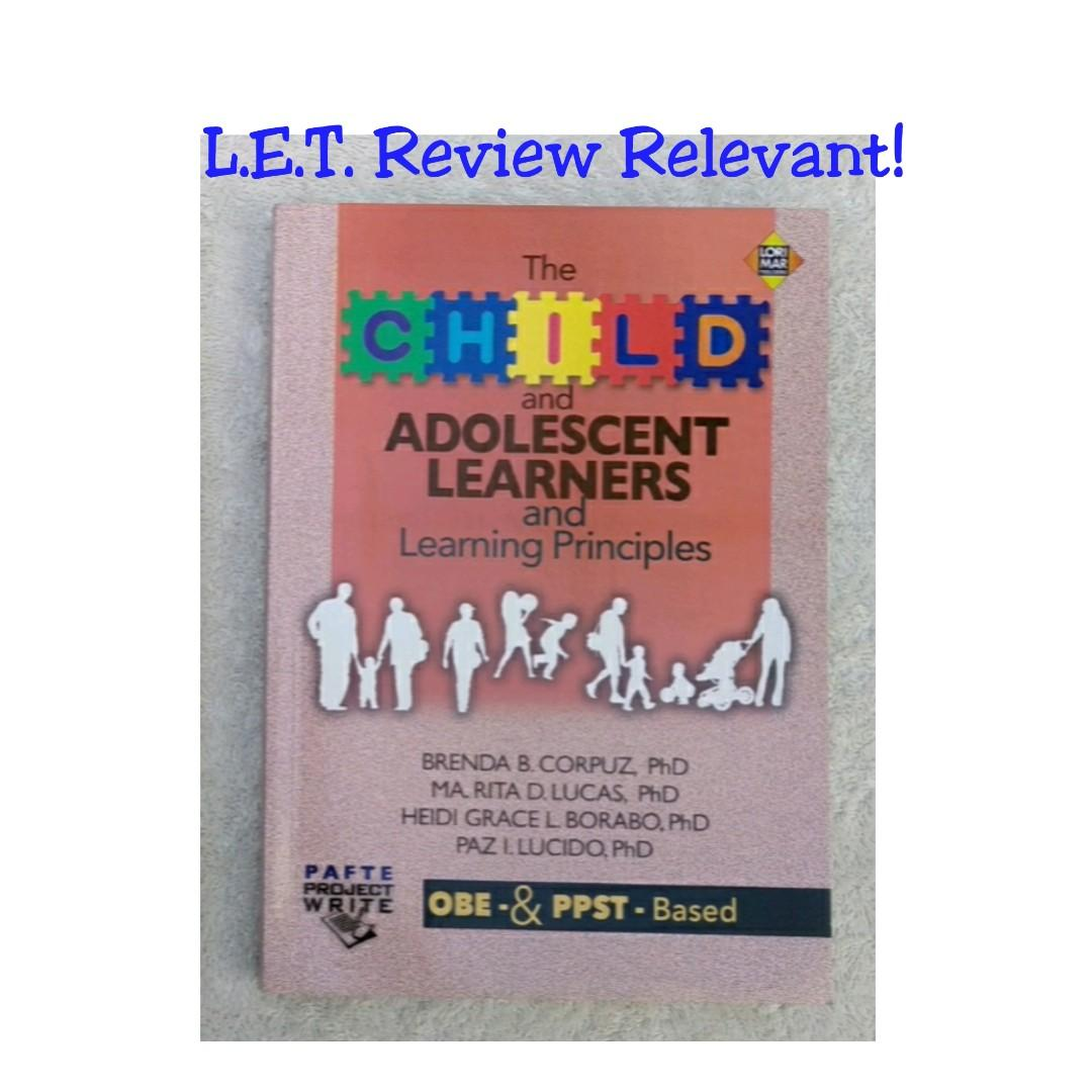 L.E.T. Review THE CHILD & ADOLESCENT LEARNERS & Learning Principles, Lorimar Publishers