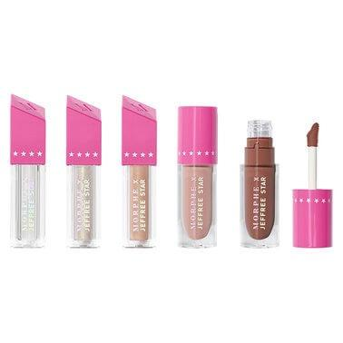 MORPHE Morphe X Jeffree Star Iconic Nudes Lip Collection RRP$38