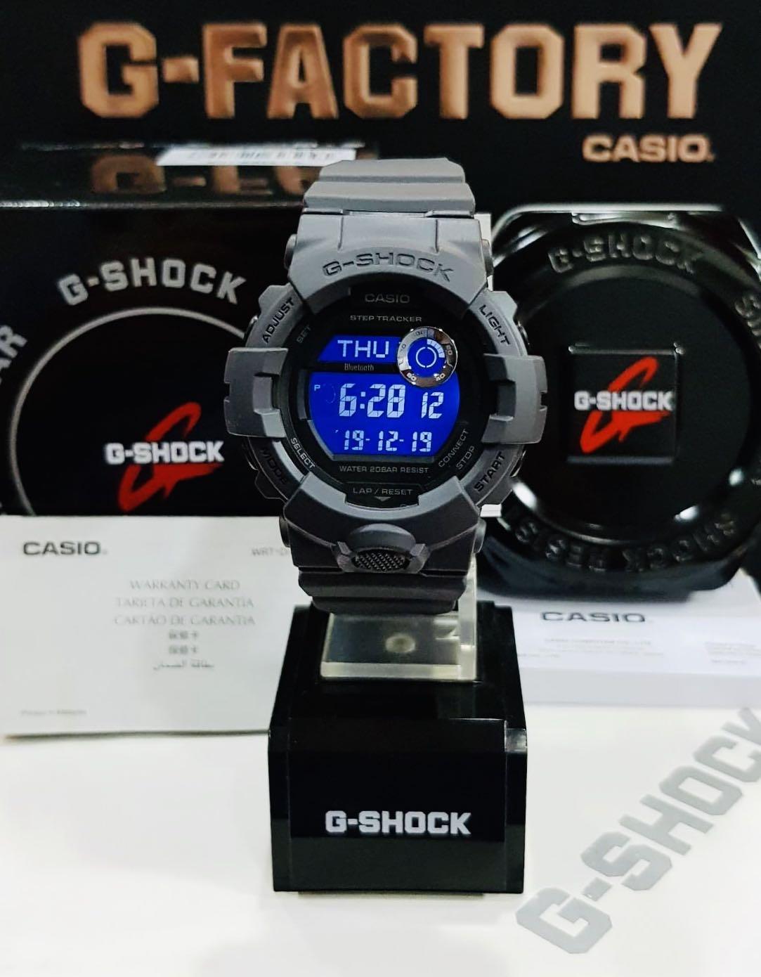 NEW🌟BLUETOOTH COUPLE💝SET : GKING GSHOCK UNISEX DIVER SPORTS WATCH : 100% ORIGINAL AUTHENTIC CASIO BABY-G-SHOCK : GX-56BB-1 + GBD-800UC-8 / GX-56-1 + GBD-800-8