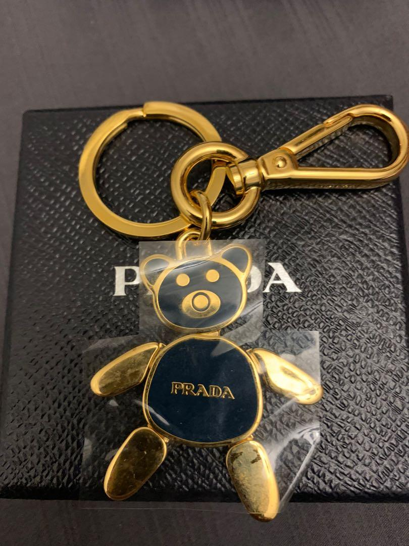PRADA Bear Pendant Royal KeyRing PRADA Bear Pendant Pink KeyRing ACCIAIO Steel SMALTO Enamel 1PS399 PEONIA Holder Steel SMALTO Enamel 1AP399 PEONIA Holder