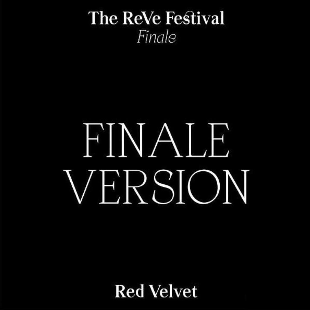RED VELVET - [FINALE EDITION] REPACKAGE ALBUM 'THE REVE FESTIVAL FINALE'