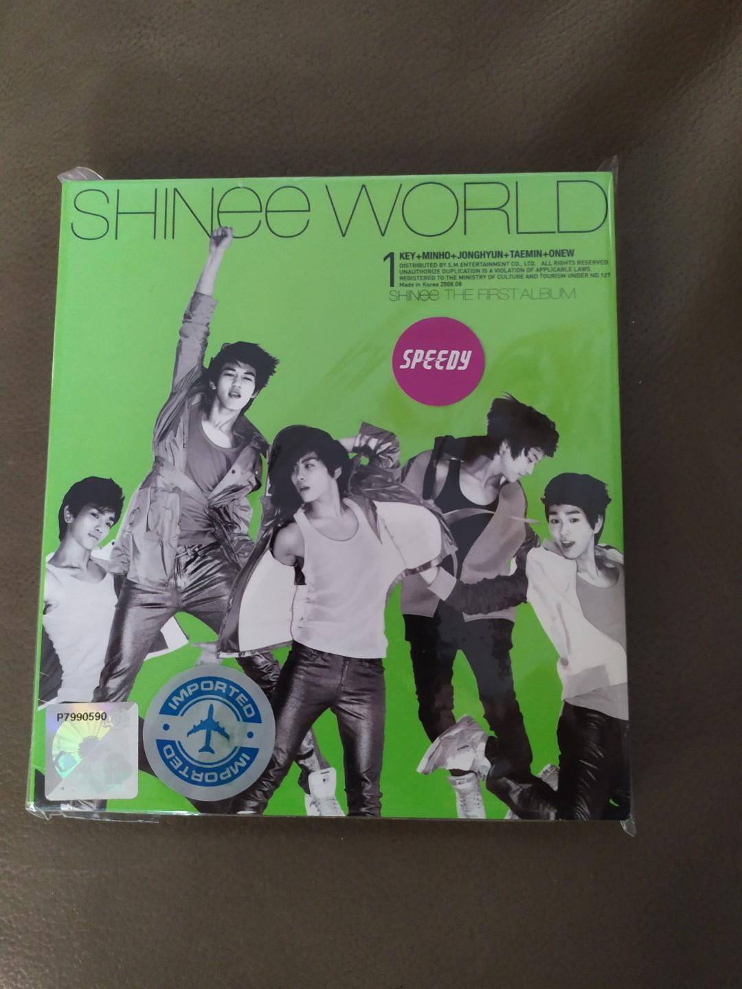 SHINEE WORLD FIRST ALBUM IMPORTED [PRICE INCLUDE SHIPPING]