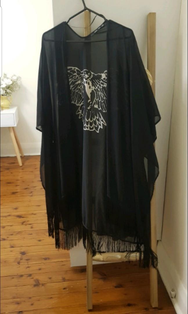 Sportsgirl kaftan cardigan one size fits all brand new