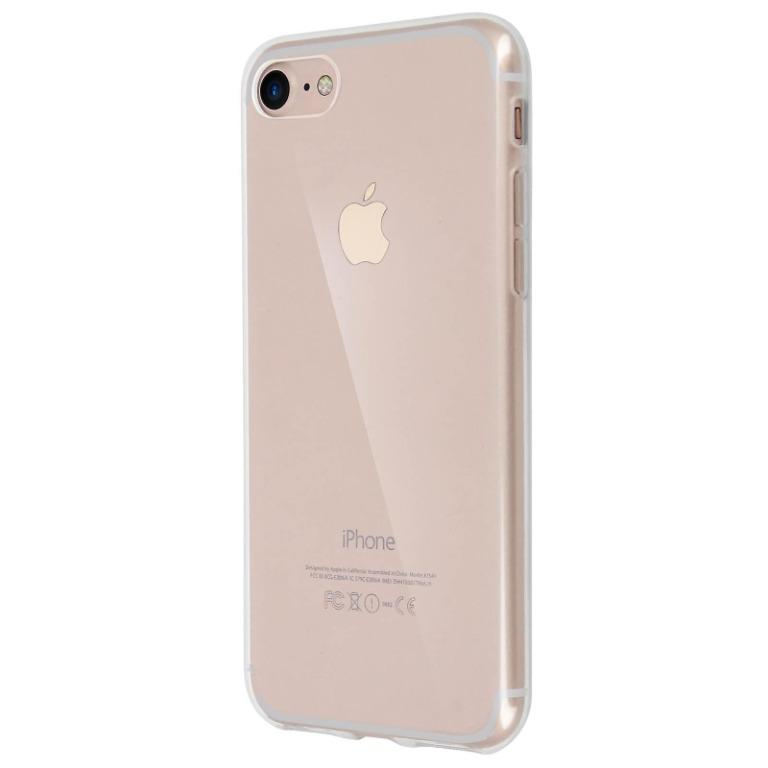 SWEET DEAL!! Soft Clear Transparent TPU Case for iPhone 7 and iPhone 8 Back Cover