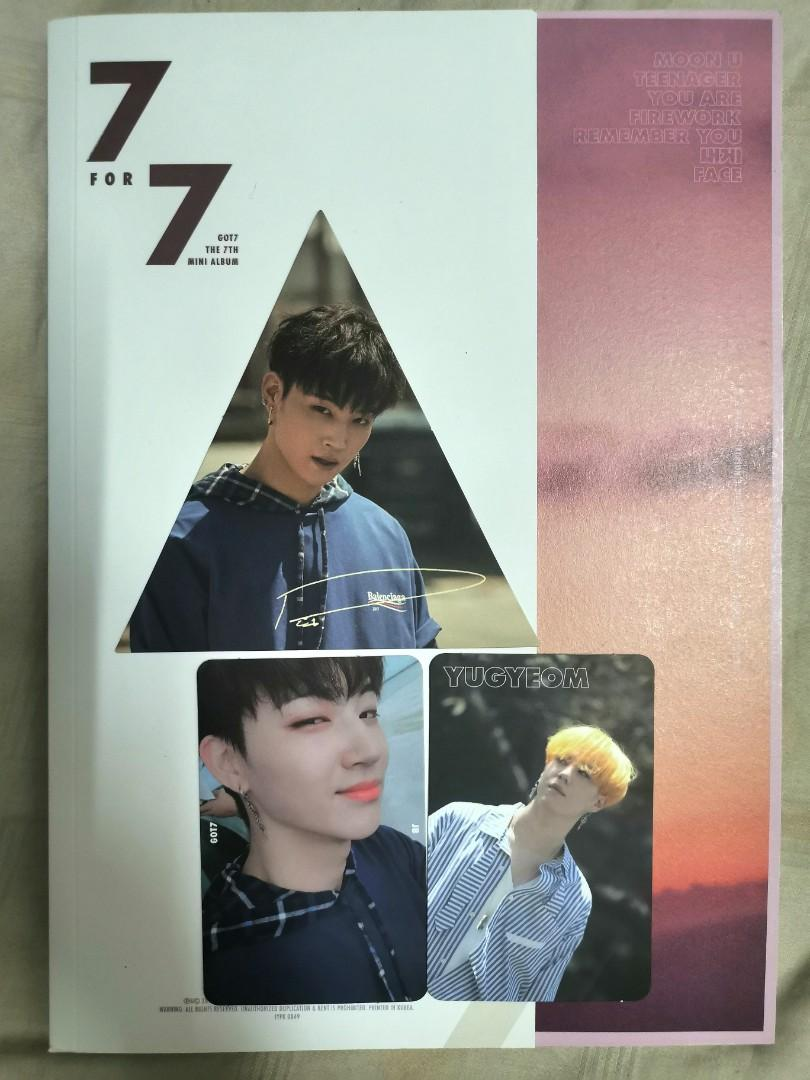 [WTS/UNSEALED] GOT7 The 7th Mini Album - 7 FOR 7 Magic Hour Ver.