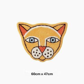 創意設計動物豹貓地墊 腳踏墊 吸水墊