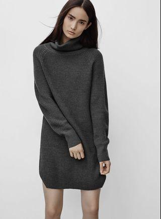 Wilfred Free Bianca Wool Sweater Dress