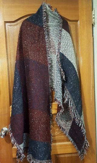 氣質時尚超大圍巾