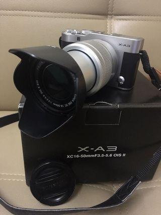 入門級無反相機 FUJIFILM X-A3 Full Set with XC 16-50mm lens 機身連鏡頭 100%authentic 90%new