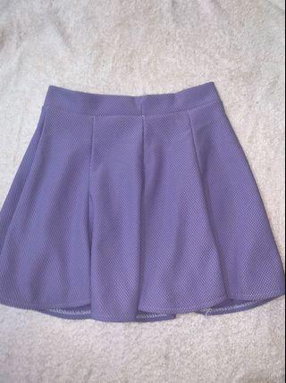 cute light purple skirt