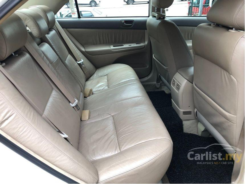 2002 Toyota Camry 2.0 E (A) Leather Seat Crystal White     http://wasap.my/601110315793/Camty2002