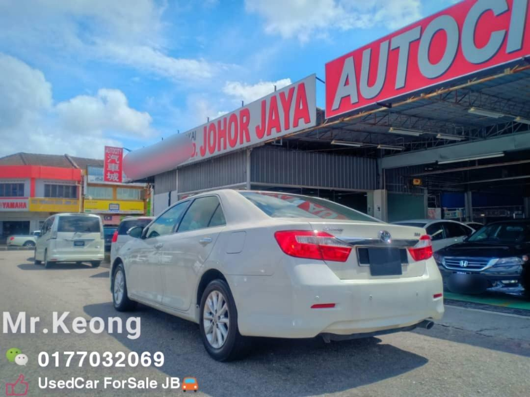 2012TH🎉TOYOTA CAMRY 2.0AT G SPEC Cash💰OfferPrice💲Rm69,800 Only🎉Low MILEAGE‼LowestPrice InTown🎉Call📲Keong ForMore🤗
