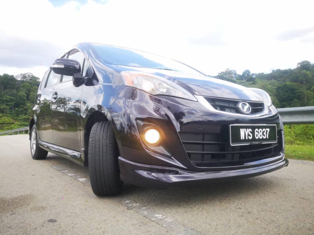 2013 Perodua ALZA 1.5 EZi (A) B/L LOAN KEDAI DP 3-5k
