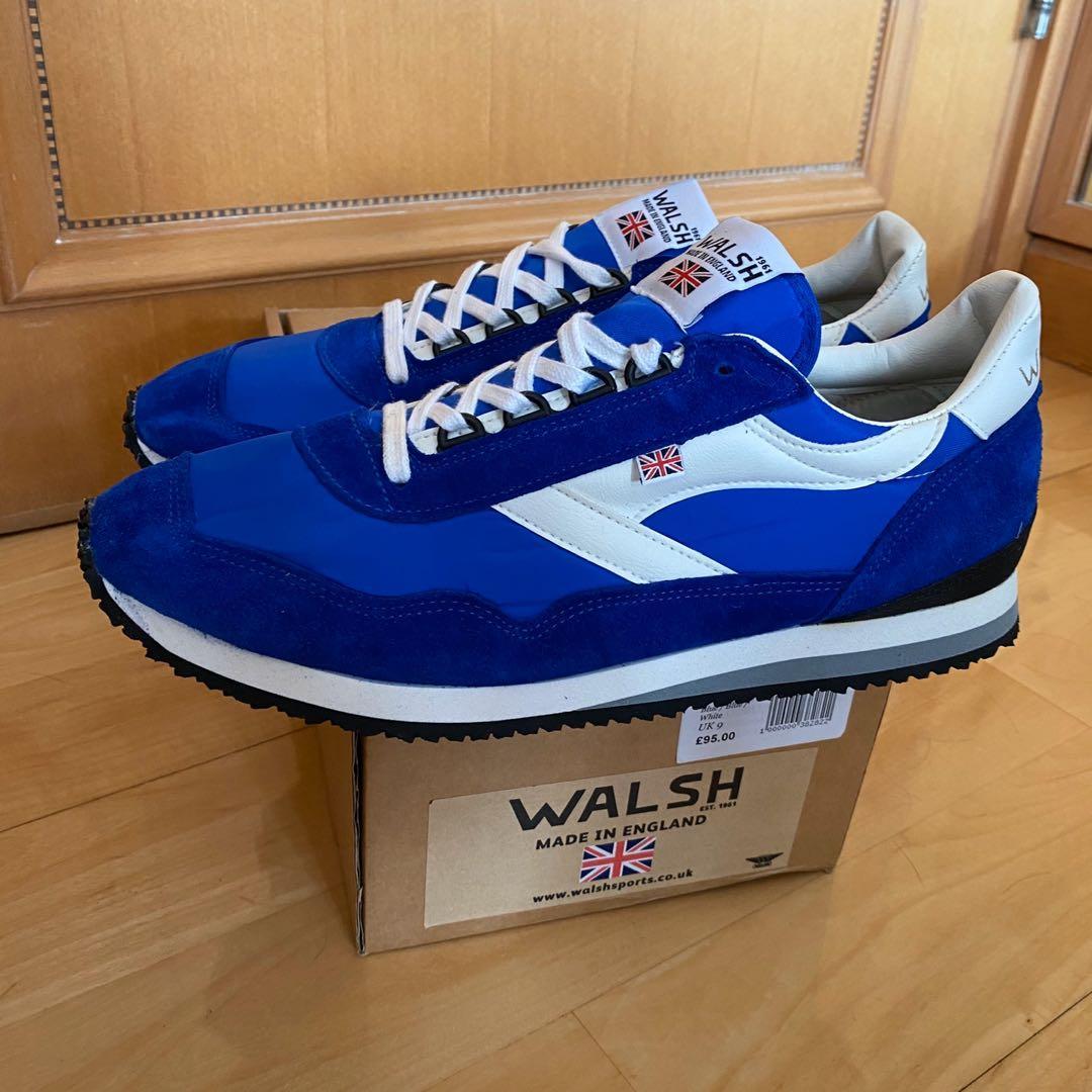 英國製Walsh Ensign Retro Running shoes