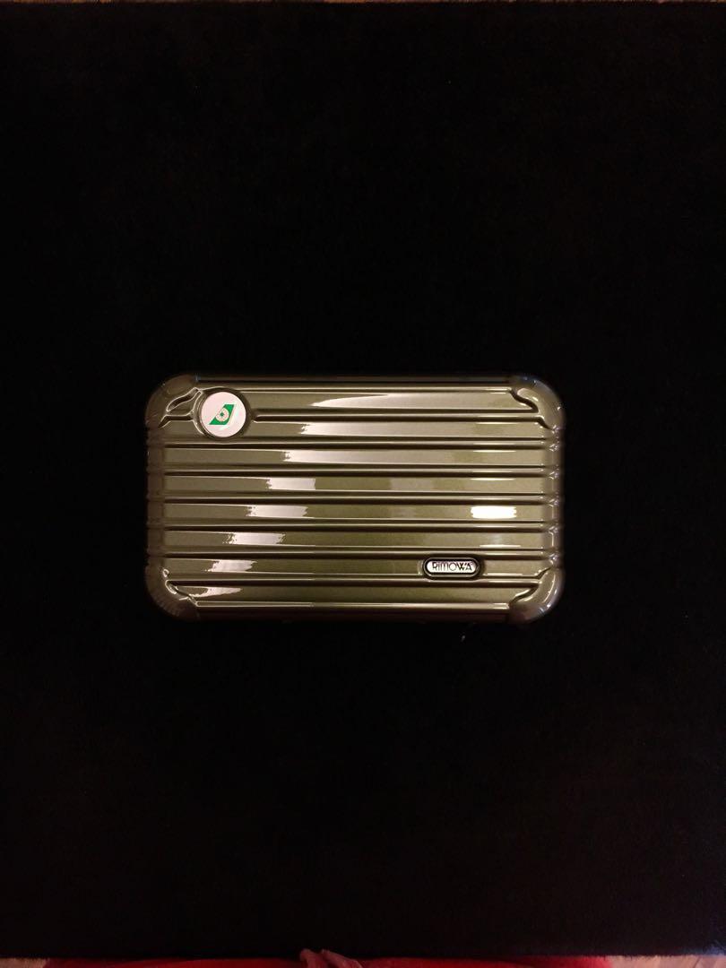 Brand New Rimowa x Eva Air Travel kit + Travel case