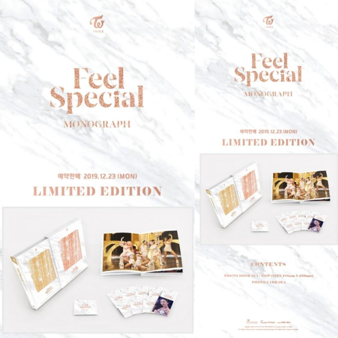 FEEL SPECIAL MONOGRAPH  RESERVATION<LIMITED EDITION>