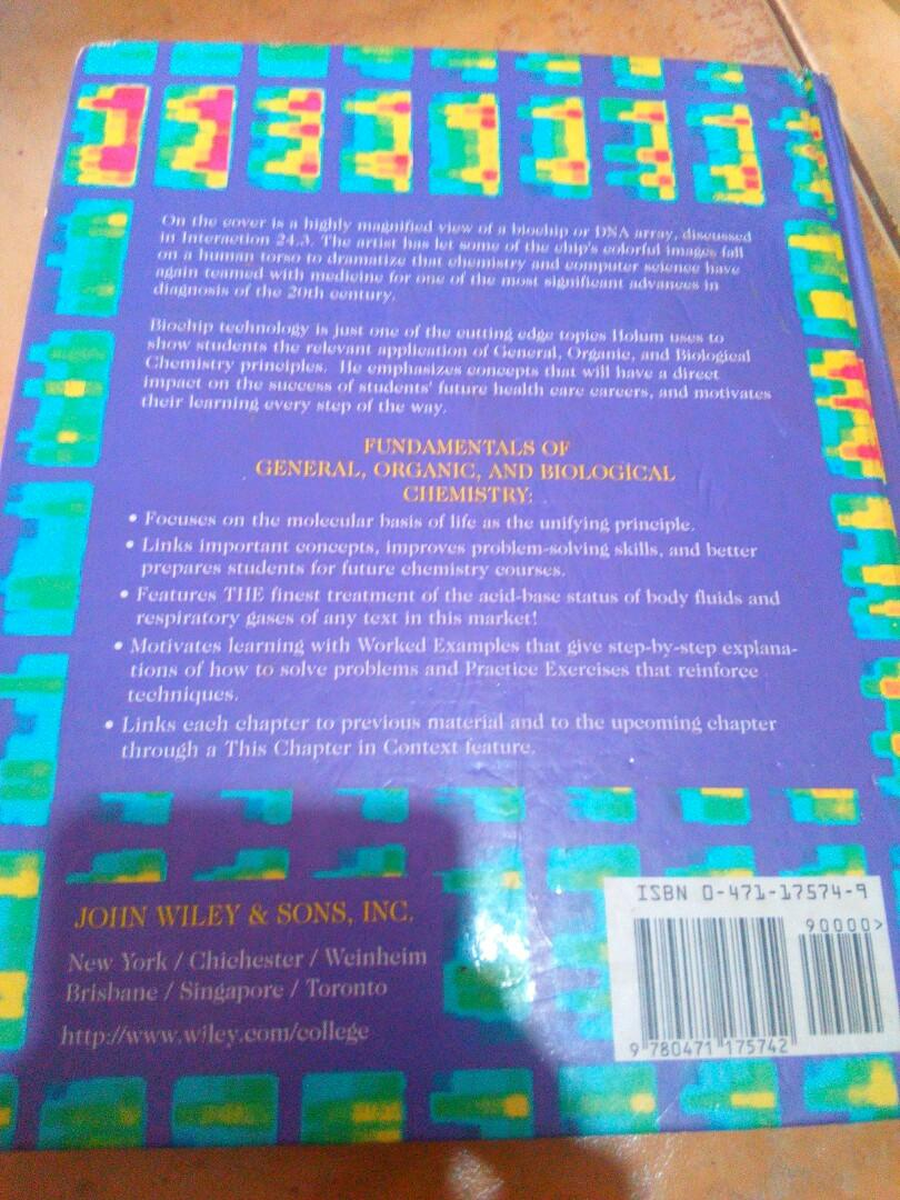 Fundamentals of General, Organic, and Biological Chemistry Sixth Edition