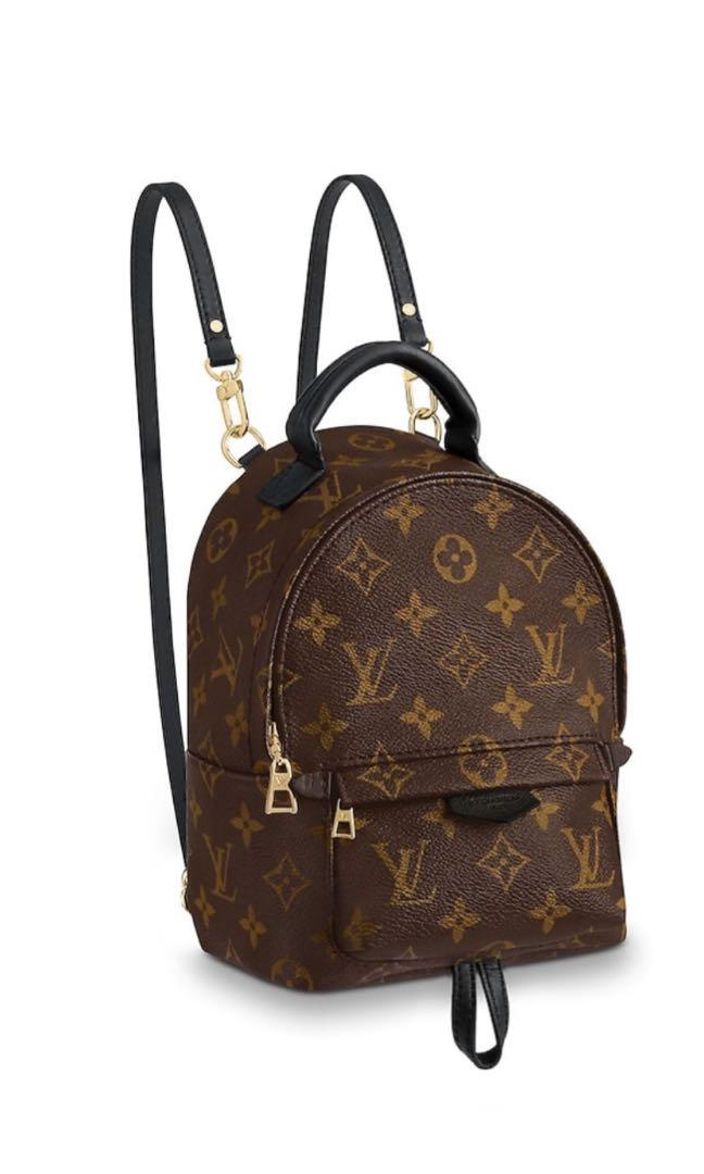 Genuine Louis Vuitton Palm Springs mini backpack monogram
