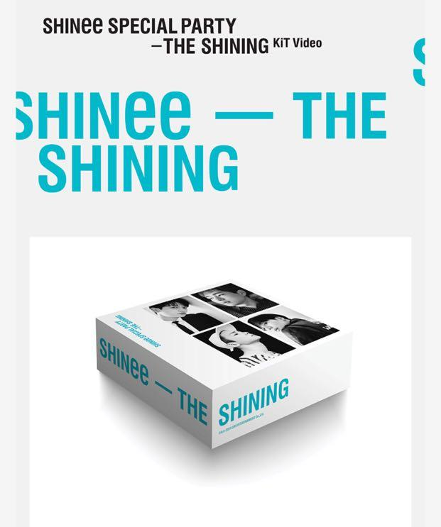 [🇲🇾GROUP ORDER] SHINee SPECIAL PARTY - THE SHINING ( KiT Video )