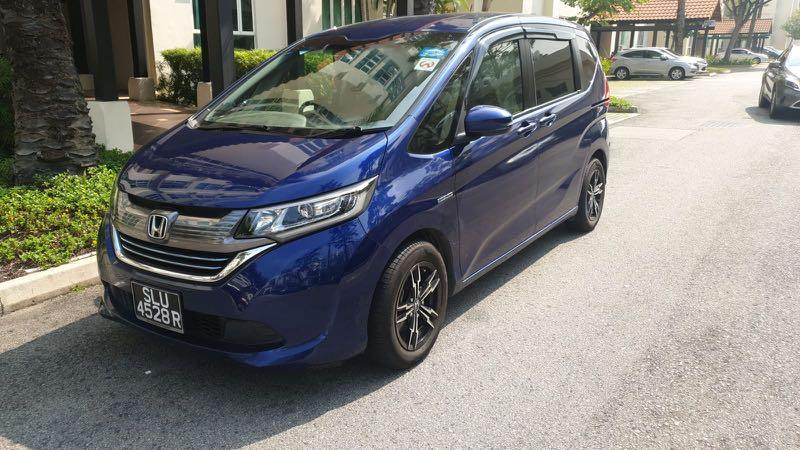 Honda Freed Hybrid for Rental (long term and short term)