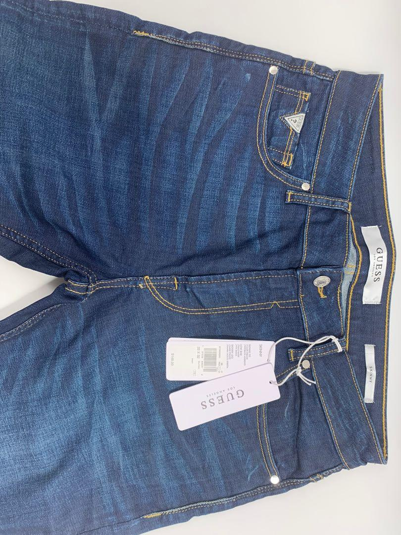 J0013 NWT Guess Regular Straight Men's Jeans 30x32 & 30x30