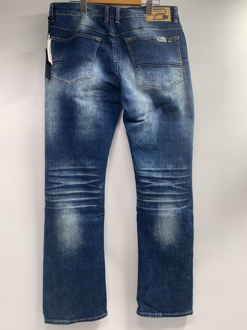 J0016Buffalo David Bitton Power Stretch Mens Slim Straight Jeans 34x34