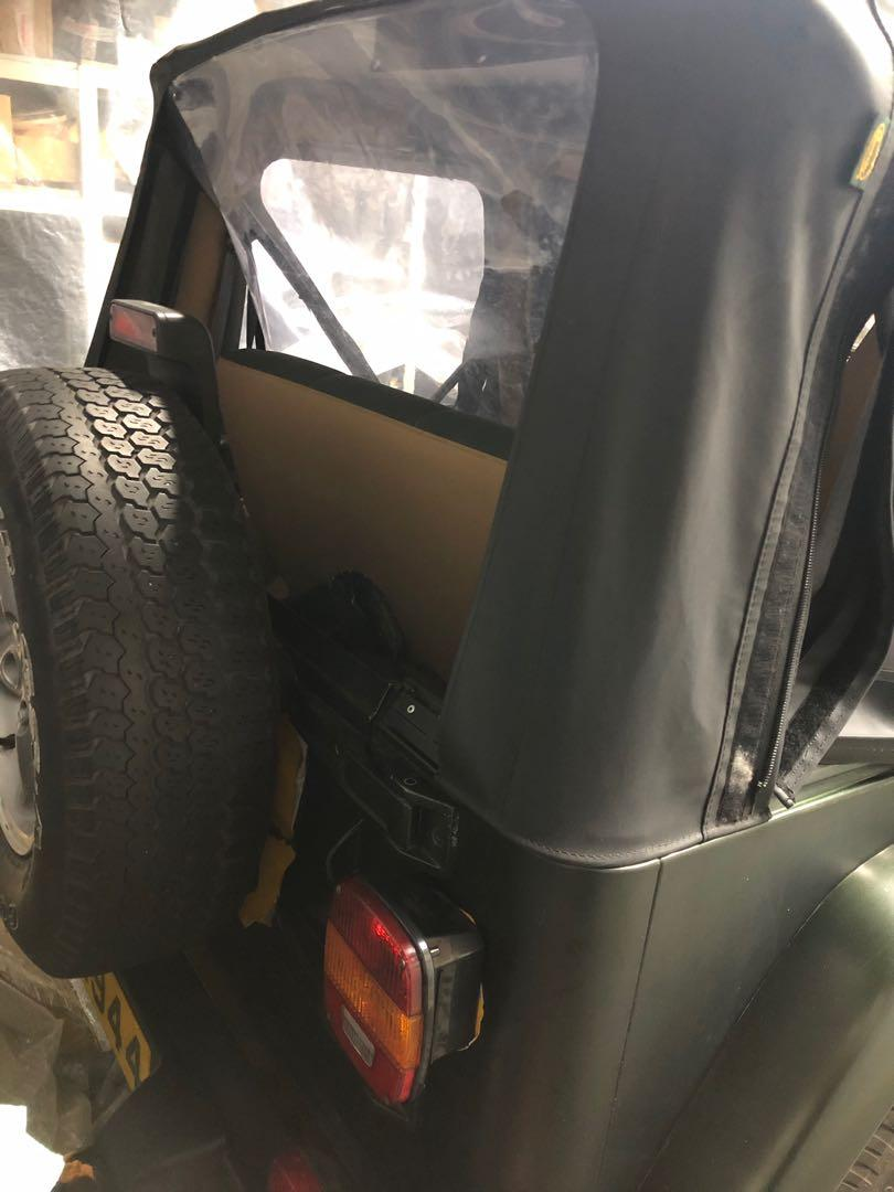 Jeep 1997 Wrangler 吉普牧马人