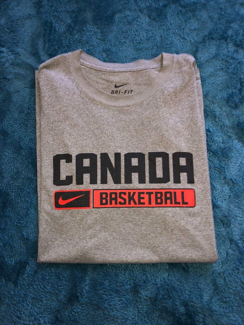 Nike Unisex Canada Basketball Dri-Fit (Perfect for 2020 Olympics)