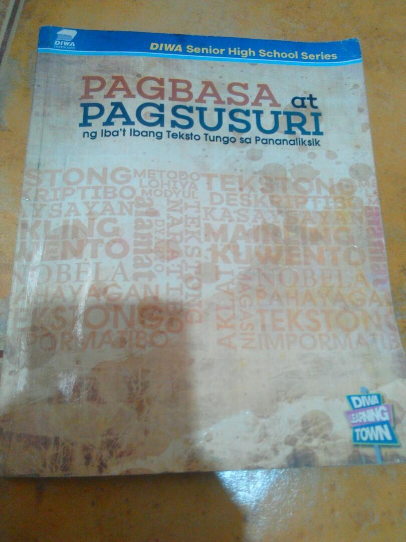 Pagbasa at Pagsusuri ng Iba't Ibang Teksto Tungo sa Pananaliksik