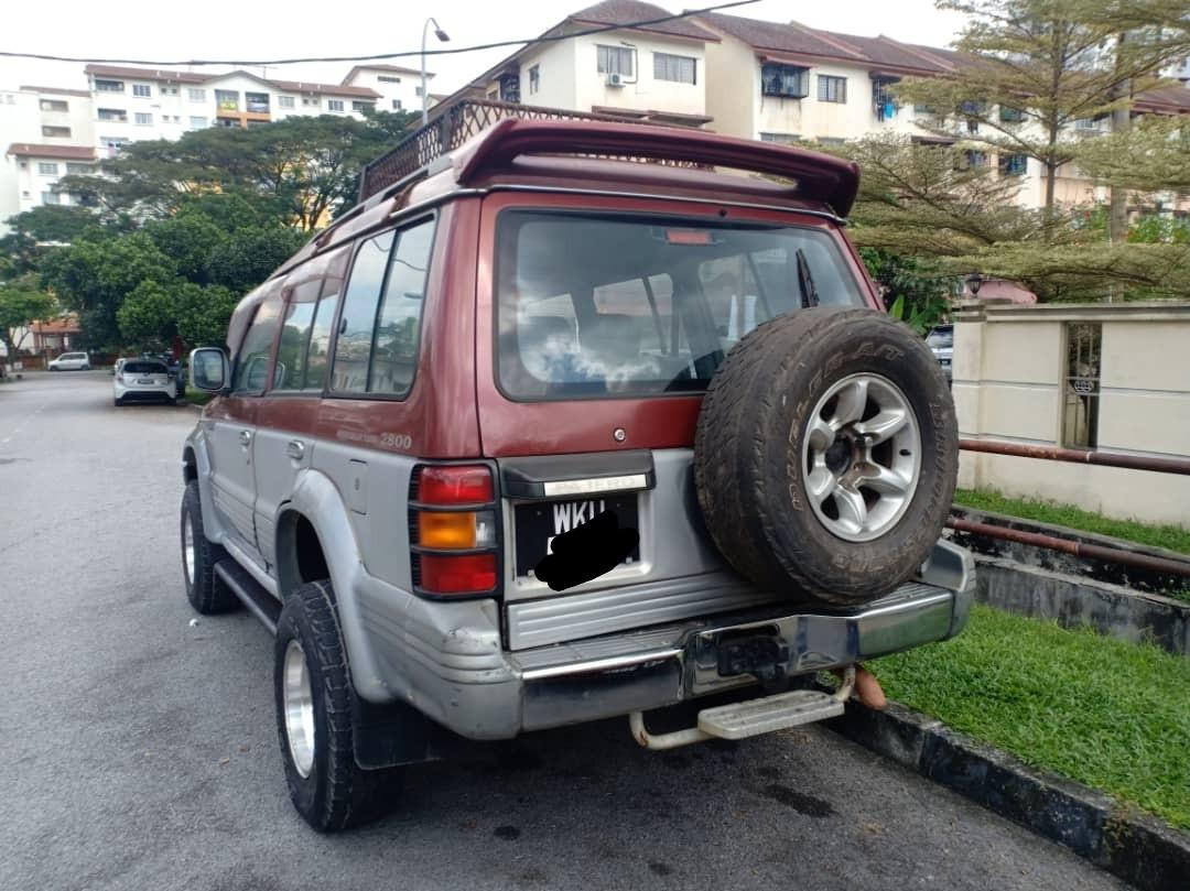 Pajero V46 2.8 Auto Diesel intercooler turboRM18800