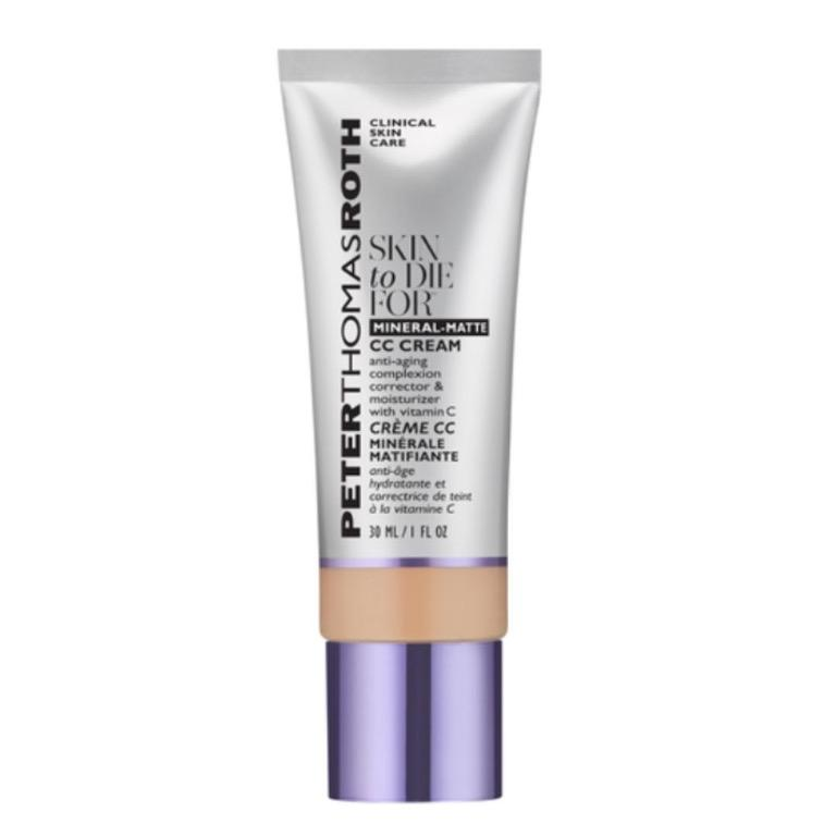 PETER THOMAS ROTH Skin To Die For Matte CC Cream RRP$59 - Light