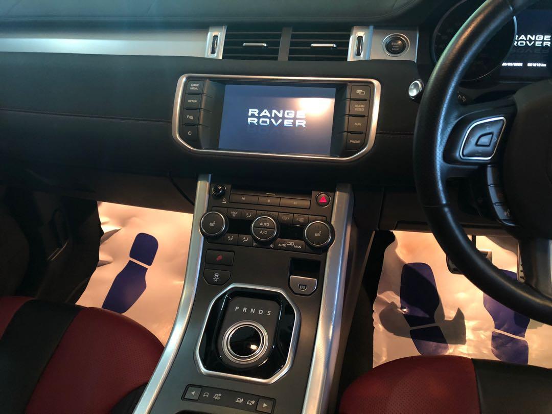 RANGE ROVER EVOQUE 2.0 DYNAMIC 2DOOR (unregistered) 2012