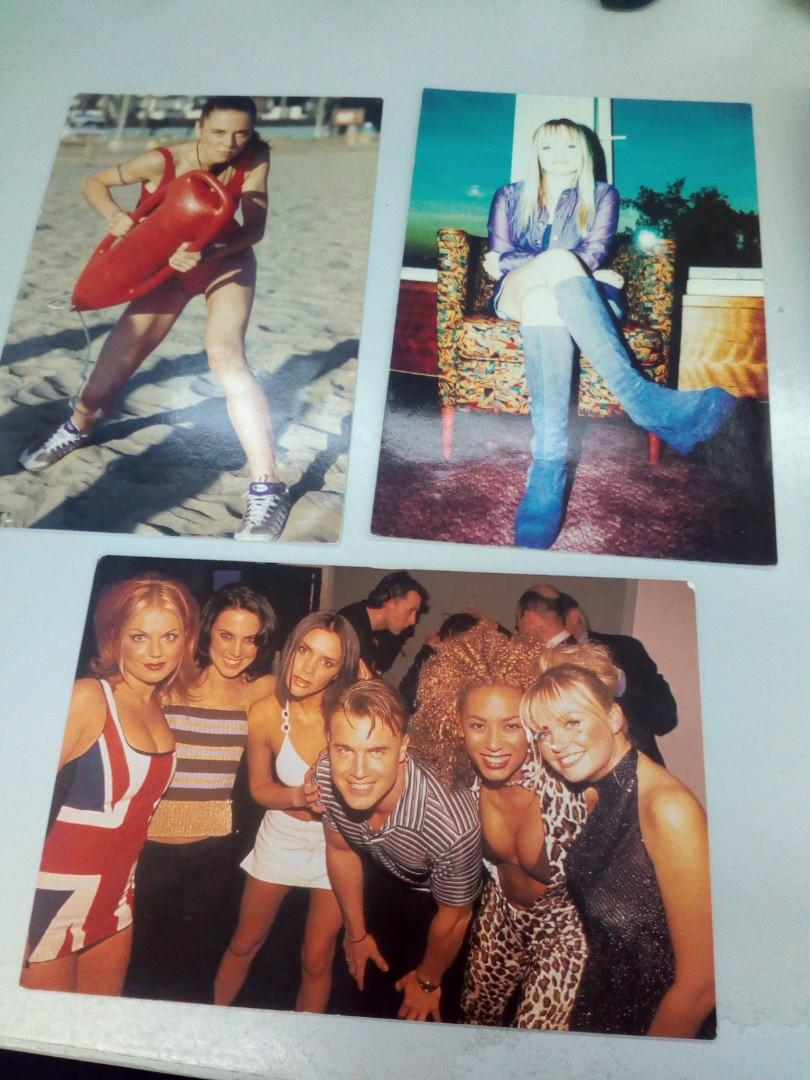 Spice girls official pictures/ picture for the official photo album