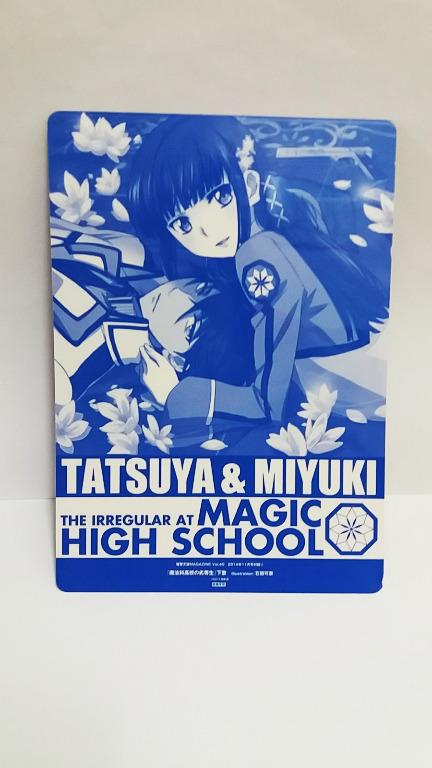 The Irregular at Magic High School underlay/plastic poster #CarousellBelanja
