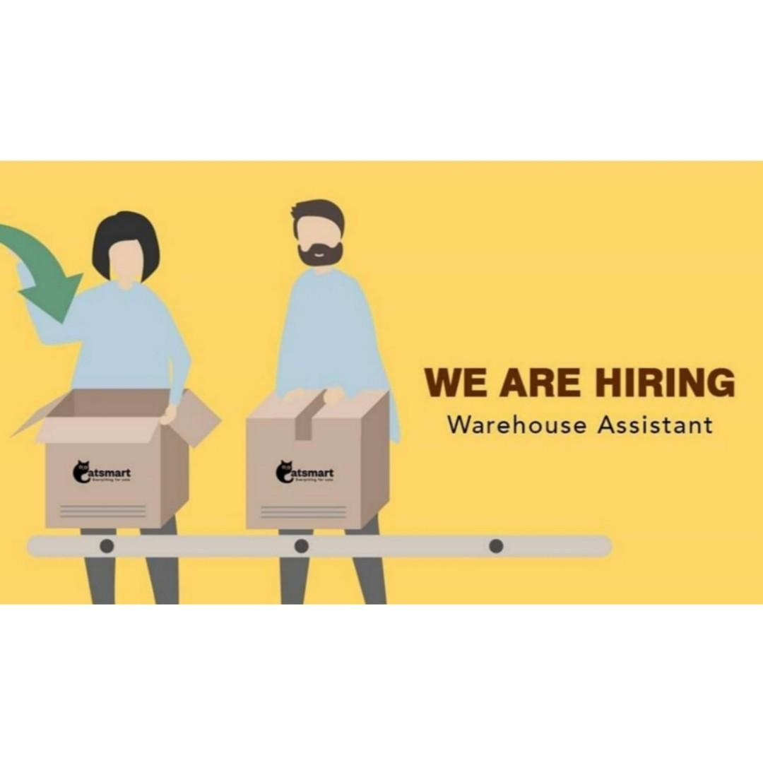 Warehouse Assistants ($1700 - $2000)