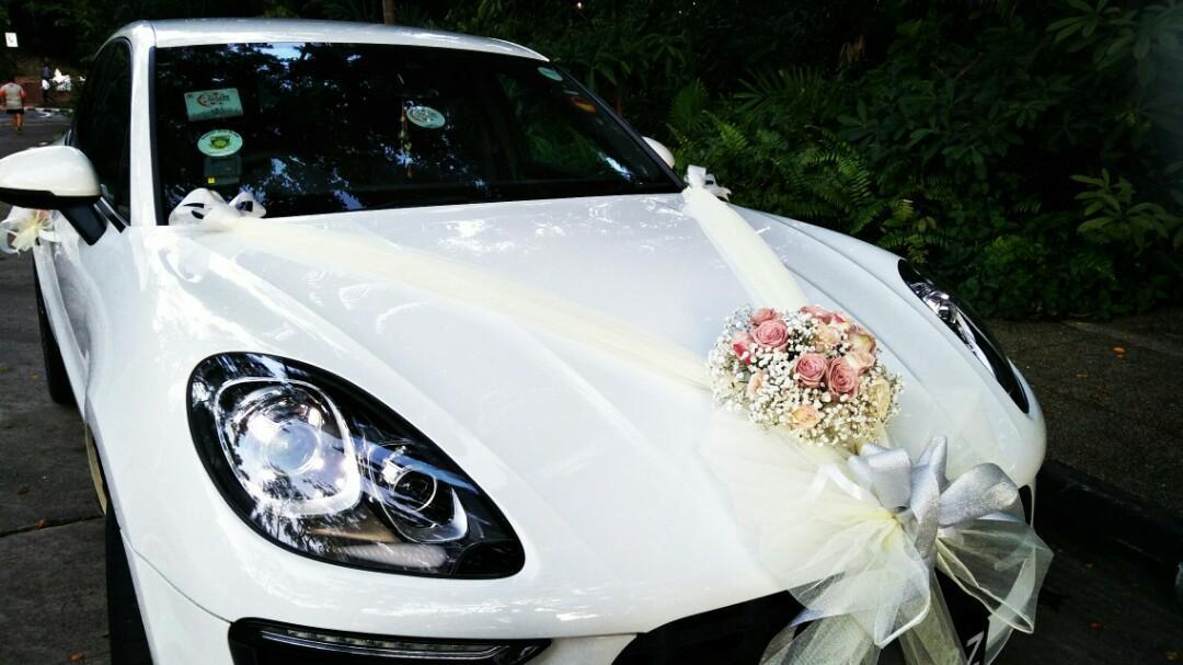 Wedding Car With Decoration