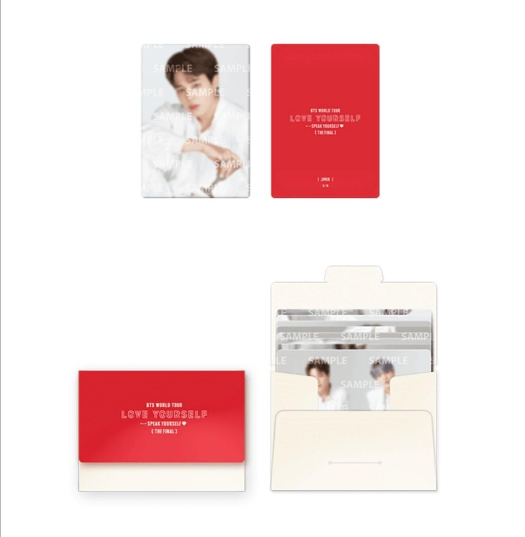 [WTB/LF] BTS Speak Yourself The Final Official Mini PC Set