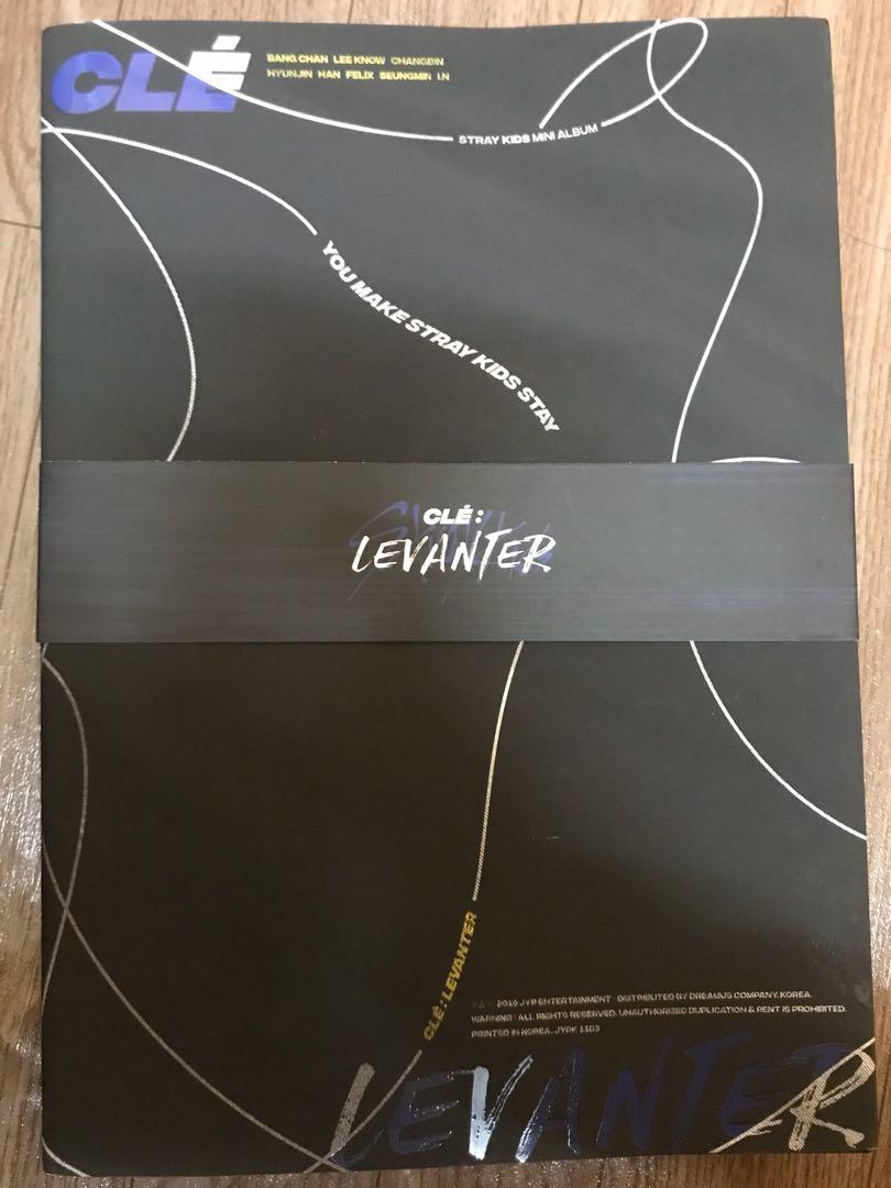 [SALE] Stray Kids Clé : Levanter Albums and Photocard