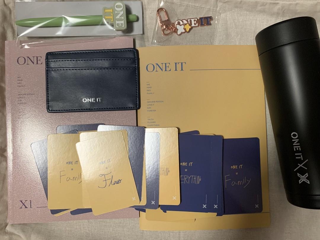 X1 Official Membership Kit Fankit (Sharing Loose Item)