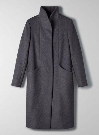 Wilfred Cocoon Wool Coat