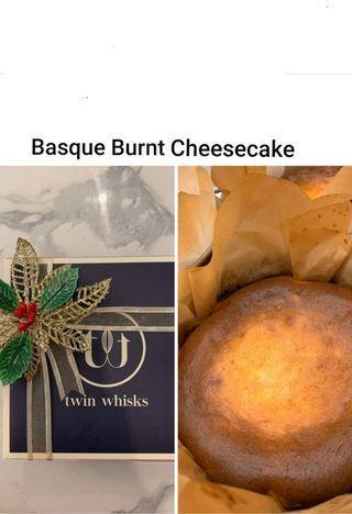 NOW BAKING...Basque Burnt Cheesecake
