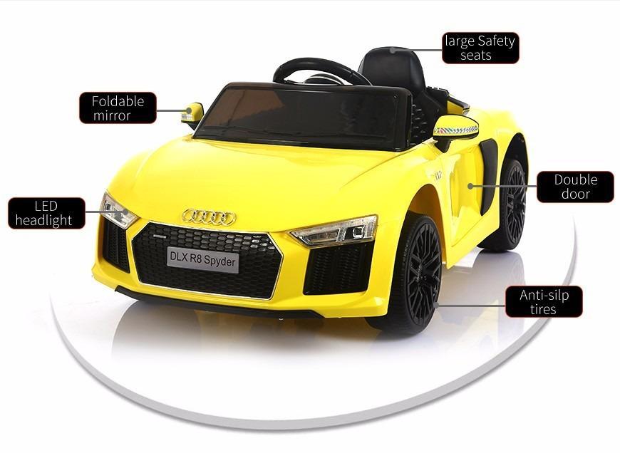 12V Audi R8 Kids Electric Car With Wireless Remote