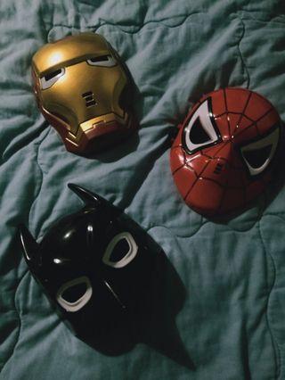 2020 Latest Superhero LED Glowing Costume Mask For Kids. 😍